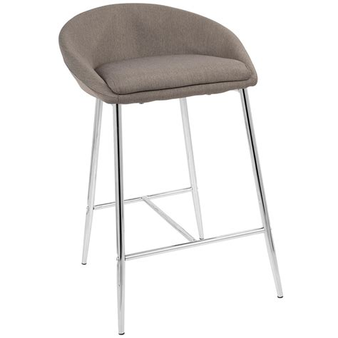 Gray Colored Stool by Modern Counter Stools Minnesota Gray Counter Stool Eurway