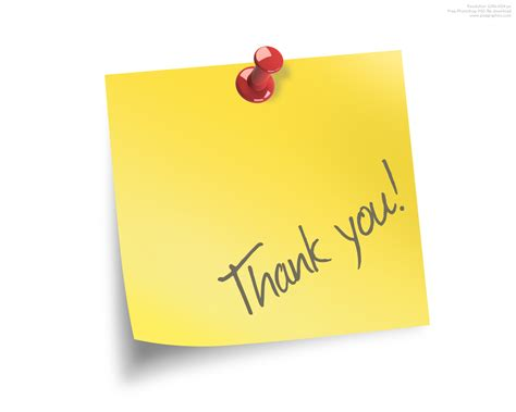 Thank You Note Your Thank You Note Psdgraphics