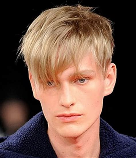 men hairstyle medium front long back chic men haircut with long layered bangs with very short