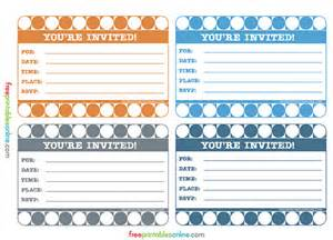 retro you re invited cards free printables