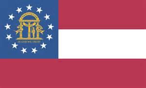 uga colors state flag represents