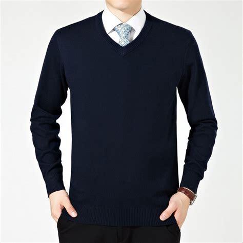 Swetear Pull aliexpress buy v neck polo wool sweater winter