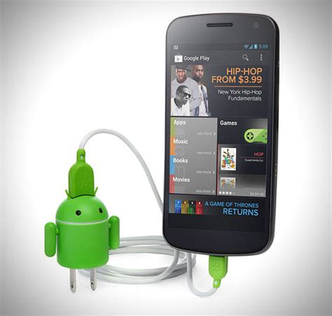 android usb drive android robot usb device charger hiconsumption