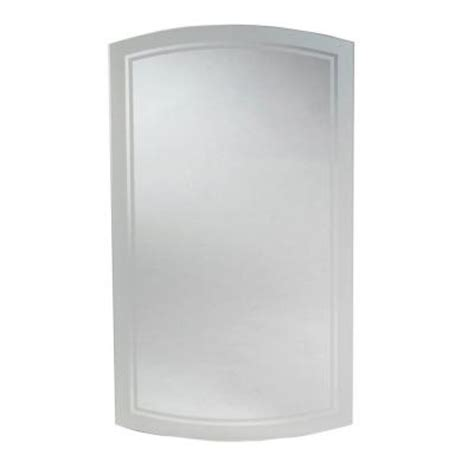 16 in x 29 in recessed mirrored medicine cabinet mm1029
