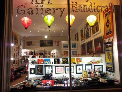 gallery display window display picture of vietnam house art gallery cafe edinburgh tripadvisor