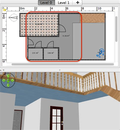 how to design a mezzanine sweet home 3d