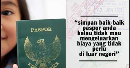 syarat membuat paspor pelancong syarat pembuatan paspor biro jasa paspor jakarta barat