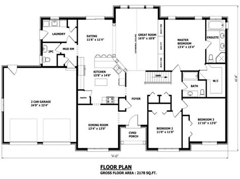 Unique Bungalow House Plans by Custom Homes Floor Plans House Design 7 8 Bedroom Home