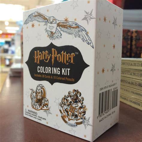 Harry Potter Coloring Kit welcome back potter 101 5 kool fm
