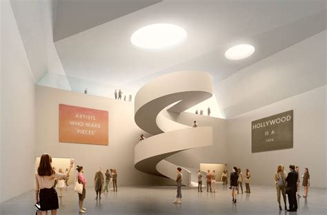 Foyer Museum by Gallery Of Mecanoo Wins Competition To Design Subterranean