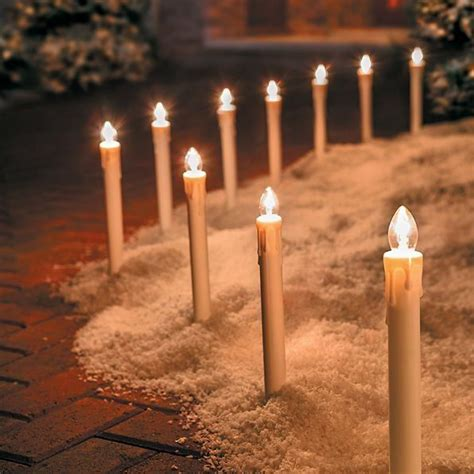 pathway christmas yard candles 242 best outdoor decorations images on outdoor decorations