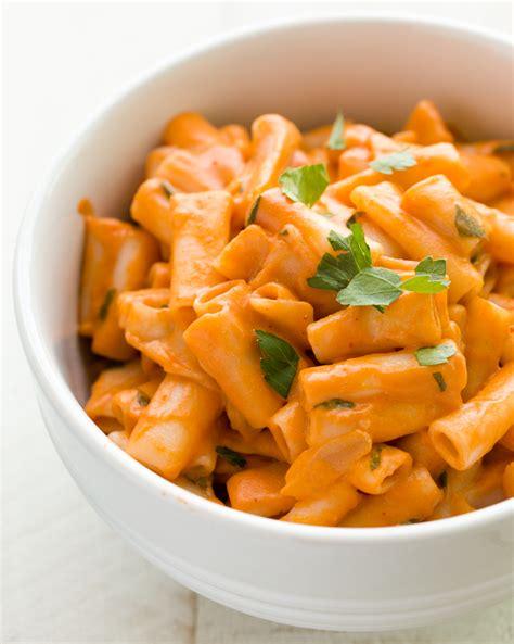 tomato pasta recipe vegan creamy tomato pasta sauce in a flash