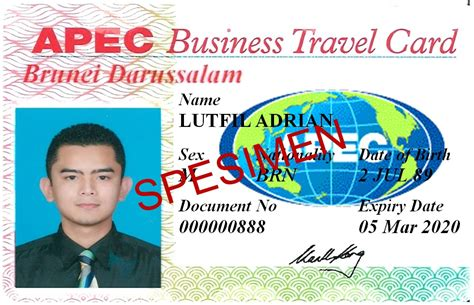 Apec Business Travel Card