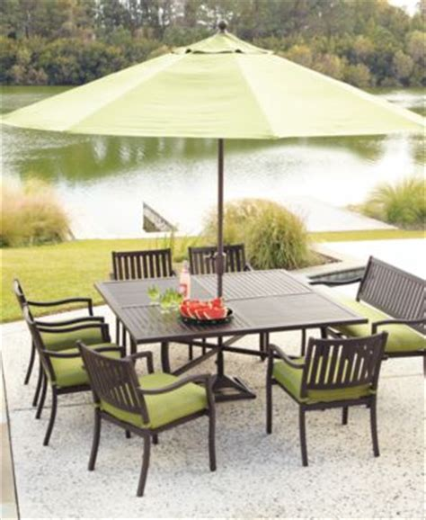 Montclair Outdoor Patio Furniture Dining Sets Pieces Macys Patio Dining Sets