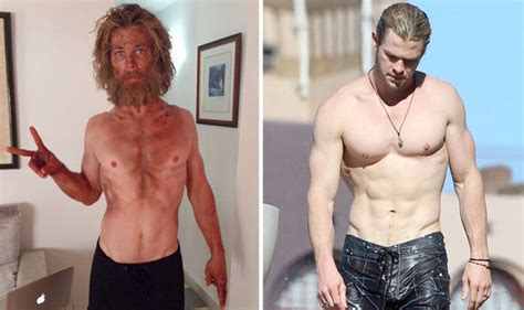 chris hemsworth is unrecognisable due to dramatically - Parker Boats Vs Jones Brothers