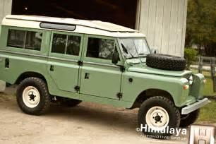 classic road suv land rover 109 and tuning of defender