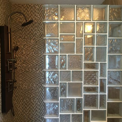 glass block bathroom designs glass block bathroom designs glass block divider design in