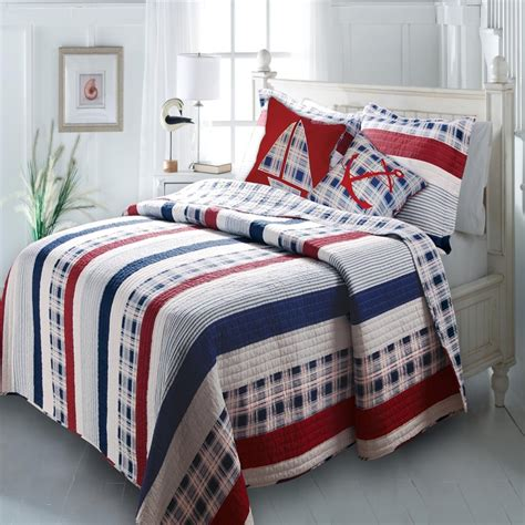 nautical bed sheets nautical bedding makes seaside dreams come true the home bedding guide