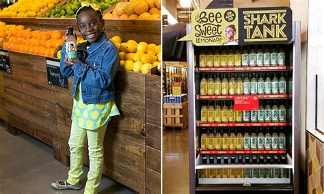 year  mikaila ulmer scored million deal   foods  sell lemonade daily mail