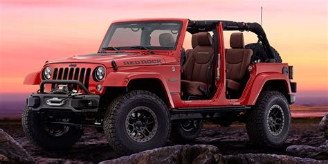 2016 Jeep Wrangler Red Rock Vehicles On Display