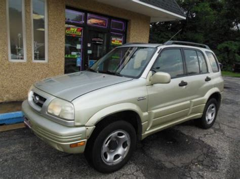 1999 Suzuki Grand Vitara Jlx Sell Used 1999 Suzuki Grand Vitara Jlx Plus Sport Utility