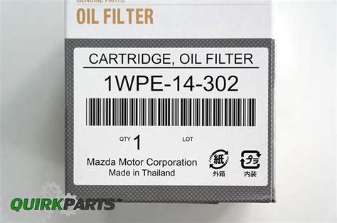 Oli Filter Mazda 1wpe 14 302 2012 2015 mazda 3 6 cx 3 cx 5 skyactiv filter cartridge oem new 1wpe 14 302 ebay