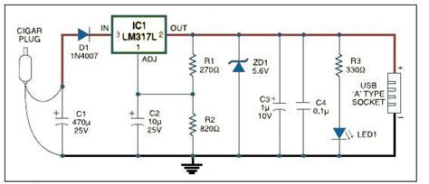 usb battery charger circuit diagram battery charger circuit page 9 power supply circuits
