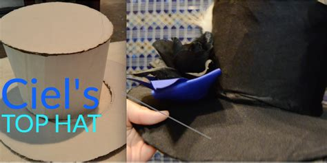 How To Make A Top Hat Out Of Paper - how to make a top hat tutorial