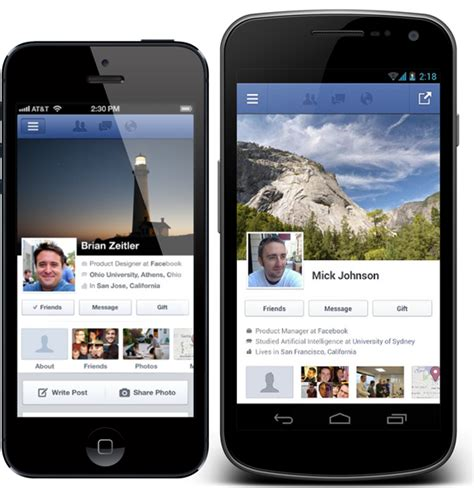 ios app for android has more mobile users accessing the social