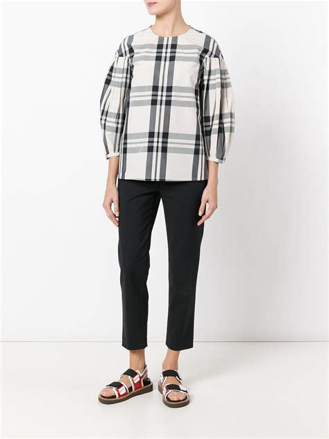 Blouse Sofie Blouse Softly Lyst Sofie D Hoore Checked Top