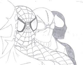 spider 2099 coloring pages spider shattered dimension by q2099 on deviantart