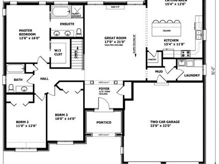 Small Home Floor Plans Canada Economical Small Cottage House Plans Small Bungalow House