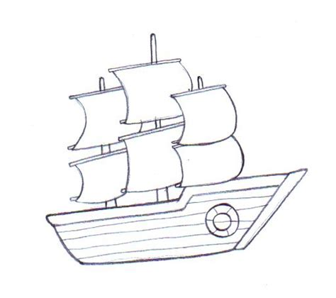boat shape drawing draw a boat a thread misc drawings boat drawing