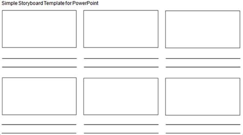simple storyboarding template 8 free word excel pdf