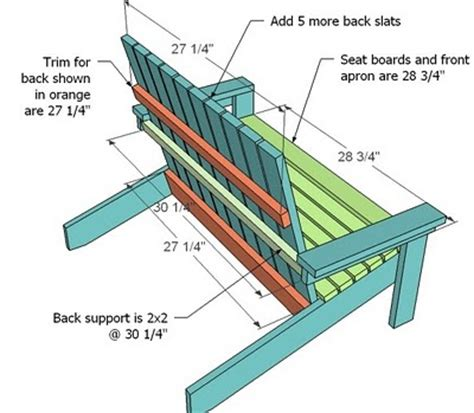 adirondack bench plans ana white how to build a super easy little adirondack