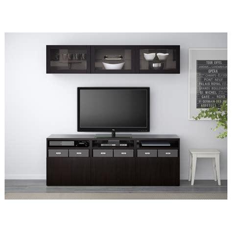 besta tv storage best 197 tv storage combination glass doors lappviken sindvik