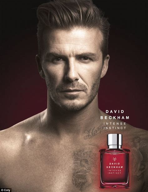 david beckham shows off harper tattoo in new fragrance ad