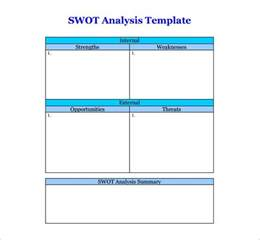 Swot Analysis Templates Word by Swot Analysis Template 46 Free Word Excel Pdf Free
