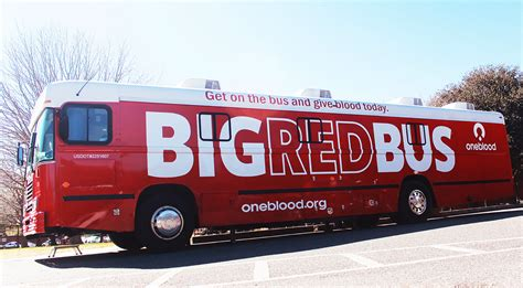 mobile blood drive blood mobile to visit bcf