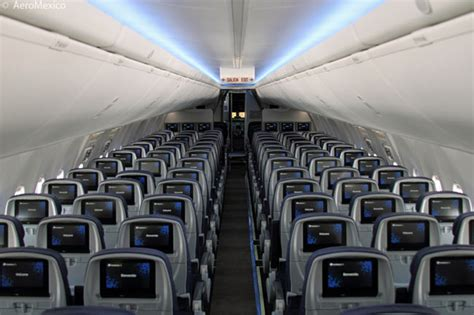 aeromexico adds 737 800 with boeing sky interior and