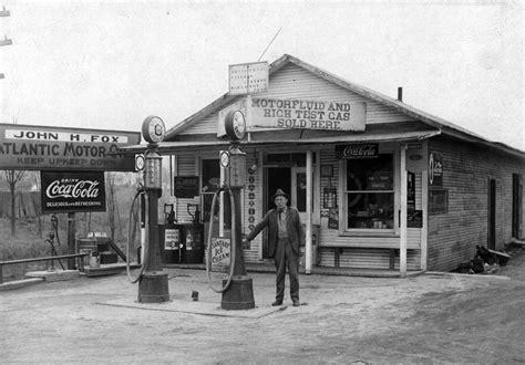fotos antiguas usa momentos del pasado antiguas estaciones de gasolina en