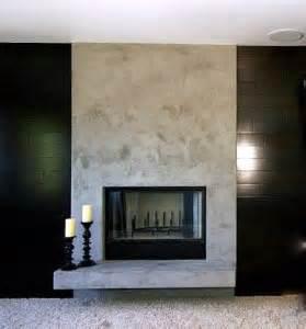 modern 24 seven fireplace contemplation