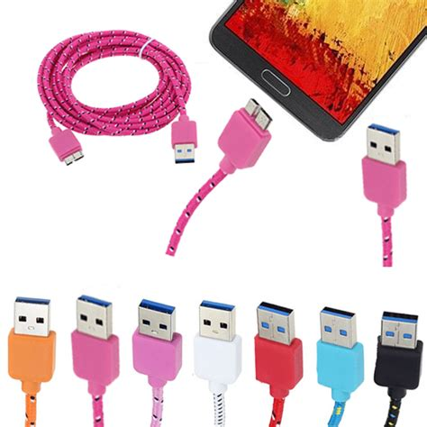 Golf Braided Micro Usb Cable White 10 ft braided micro usb data sync cable for samsung galaxy