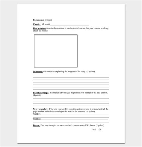 chapter outline template 10 free formats exles and