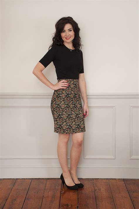 pattern house kent skirt sew over it ultimate pencil skirt sewing pattern sew