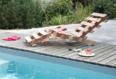 chaise longue palette 12 id 233 es fantastiques de diy avec des palettes en bois