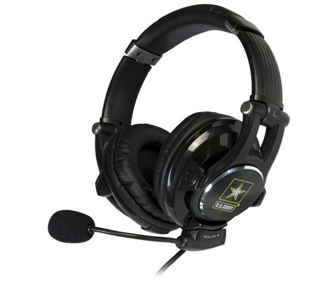 Headset Army u s army universal gaming headset with 3d effect for ps3 xbox 360 pc