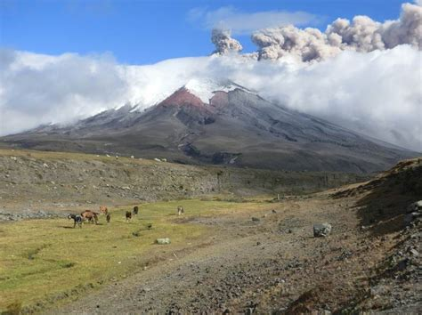 imagenes satelitales volcan cotopaxi actualizaci 243 n de la actividad eruptiva volc 225 n cotopaxi n
