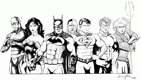 coloring pages of justice league free justice league coloring pages coloring home