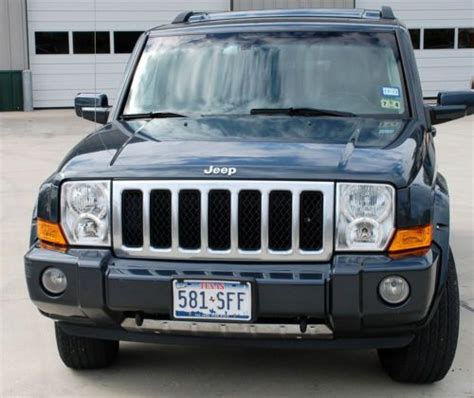 2007 Jeep Commander Transmission Sell Used 2007 Jeep Commander Overland 4wd In Houston